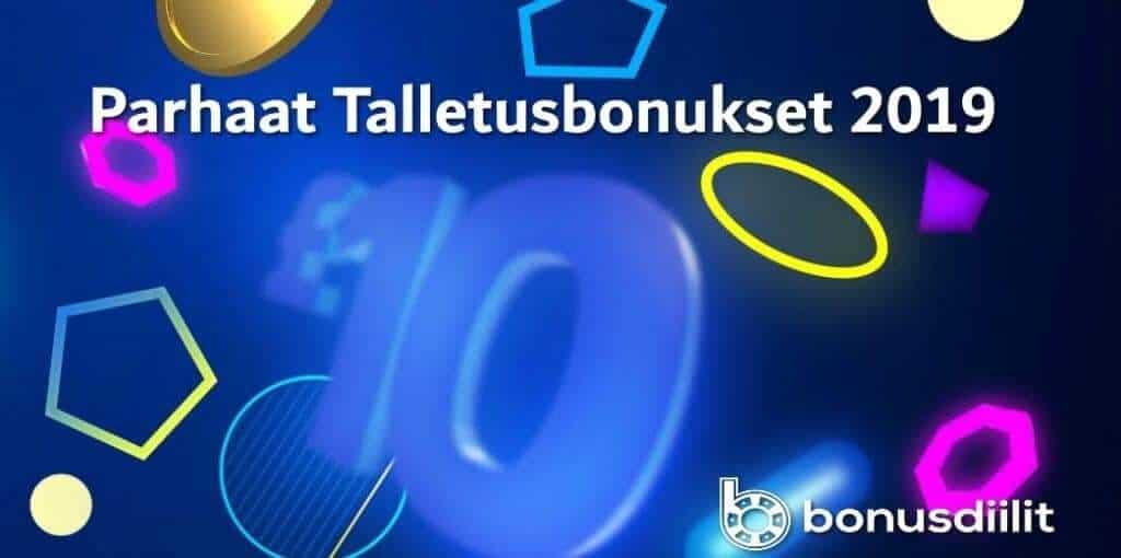 parhaat talletusbonukset 2020 bonusdiilit.com