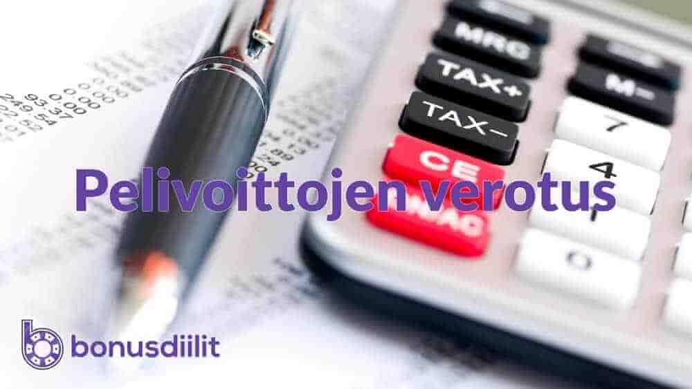 Pelivoittojen verotus