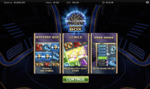 Millionaire Mystery Box (BTG) on jatkoa suositulle Haluatko Miljonääriksi -slotille! 1