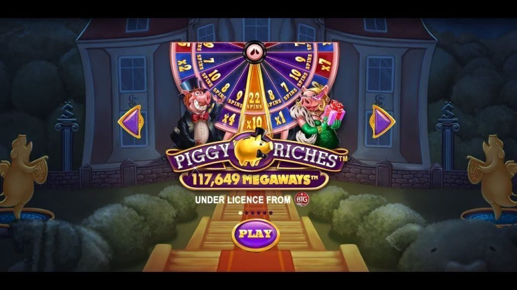 piggy riches megaways kolikkopeli