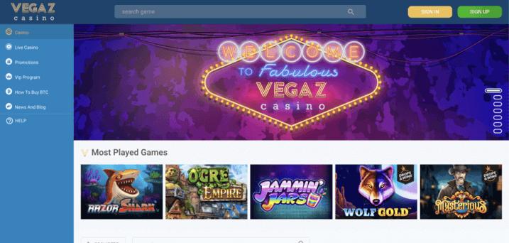 Vegaz Casino 2