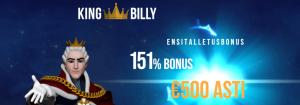 king billy ensitalletusbonus