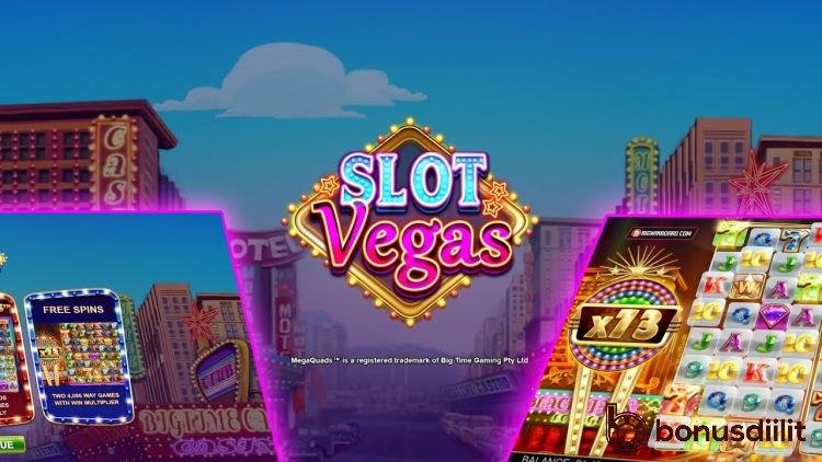 Slot Vegas Megaquads (Big Time Gaming) tulossa! 1