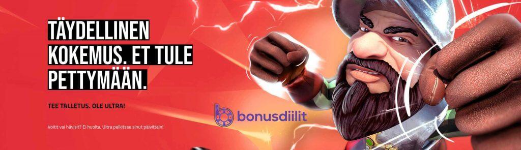 Ultra Casino bonusdiilit
