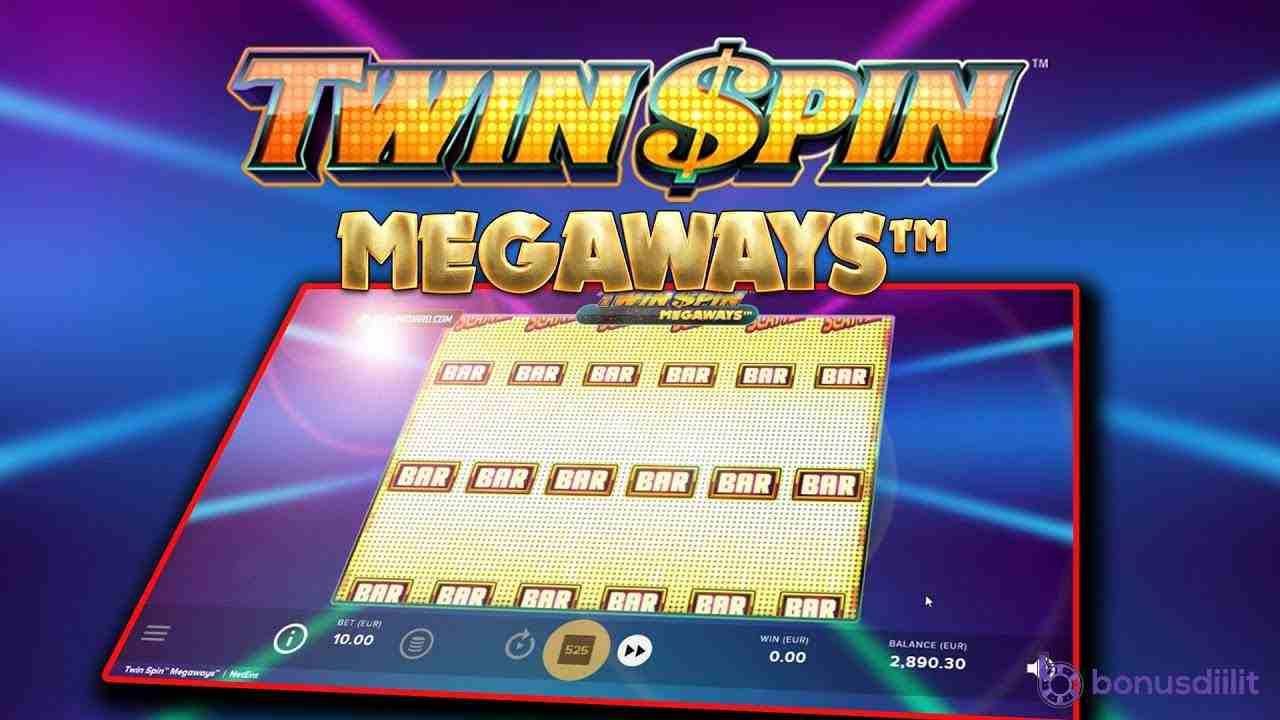 twin spin megaways peli
