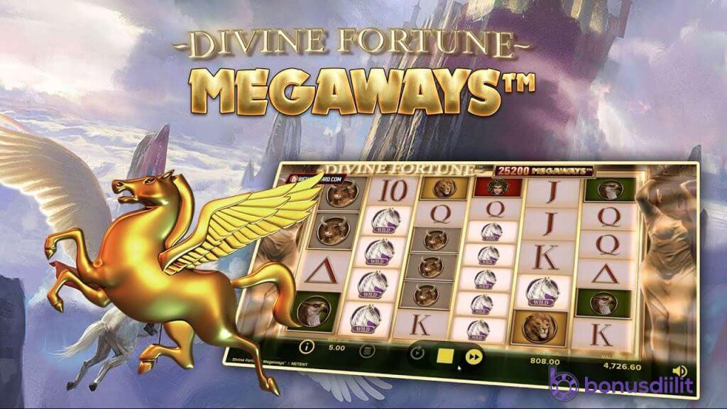 divine fortune megaways peli