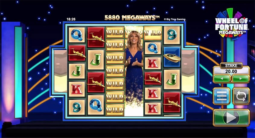 Wheel of Fortune Megaways (Big Time Gaming) – Uusi onnenpyöräpeli 1