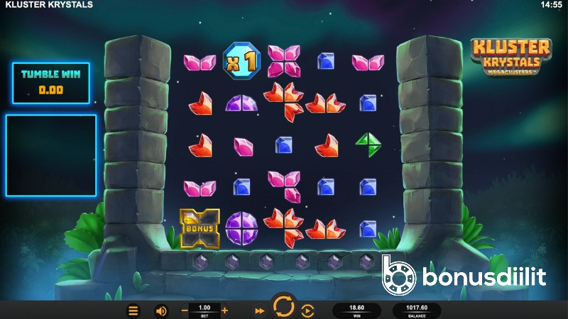 Kluster Krystals Megaclusters (BTG, Relax Gaming) - Kolmas megaclusters tulossa 2