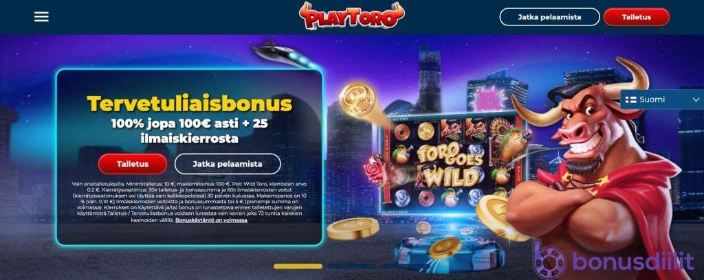 PlayToro Casino 1