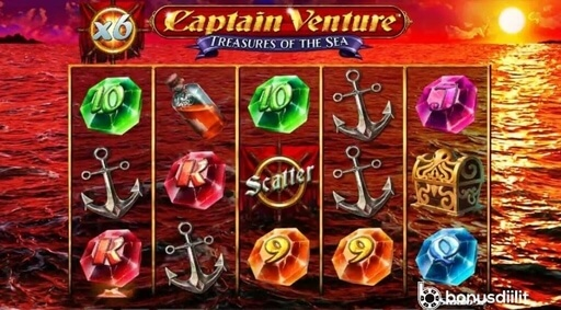 captain venture treasures of the sea slotti