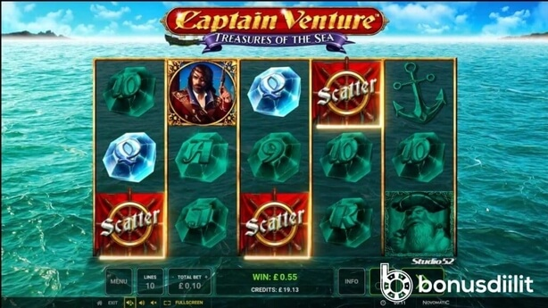 Captain Venture: Treasures of the Sea - Klassikkopeli päivitetty 2020-luvulle 1
