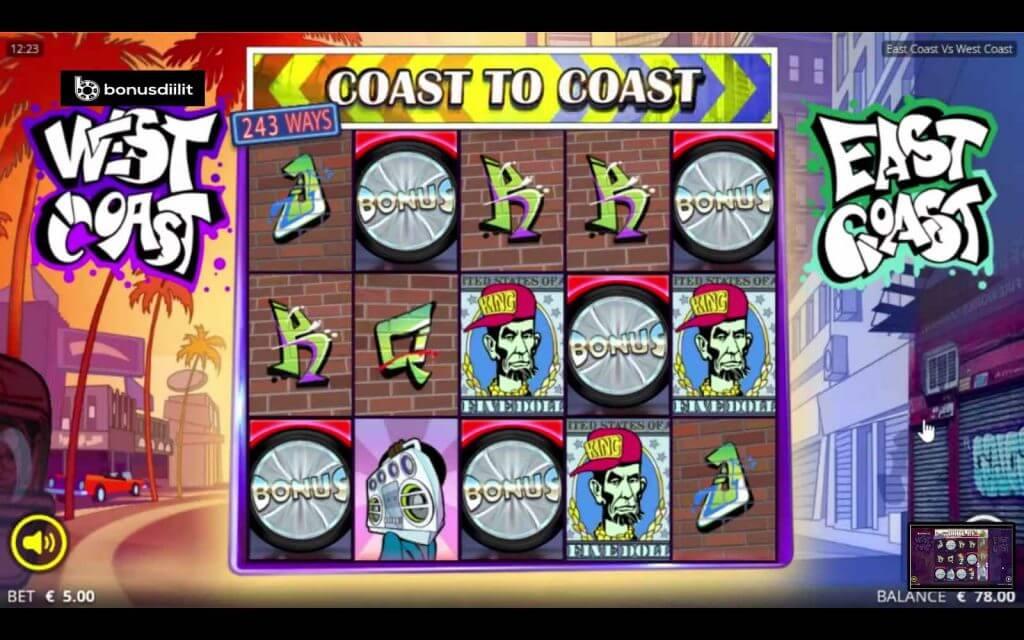 east coast vs west coast gameplay
