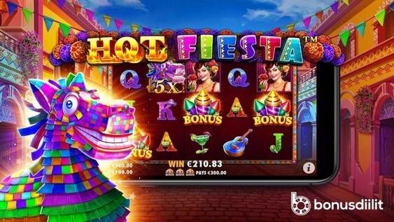 hot fiesta slotti big win