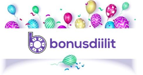 Bonusdiilit.com synttäriviikko! 1