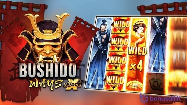bushido ways xnudge wild symbolit bonusdiilit.com