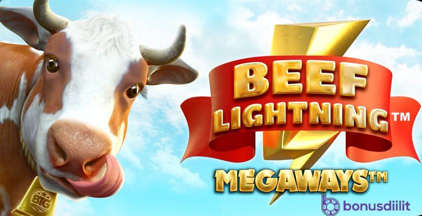Beef Lightning Megaways (BTG) - Huikea voittopotentiaali 2