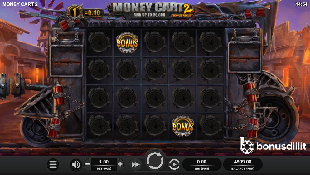 Money Cart 2 Bonus Reels gameplay