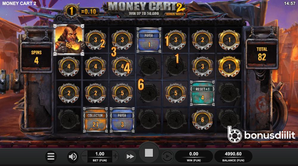 Money Cart 2 Bonusdiilit