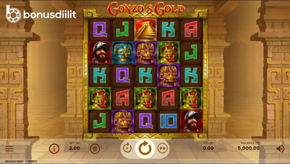 Gonzos gold gameplay