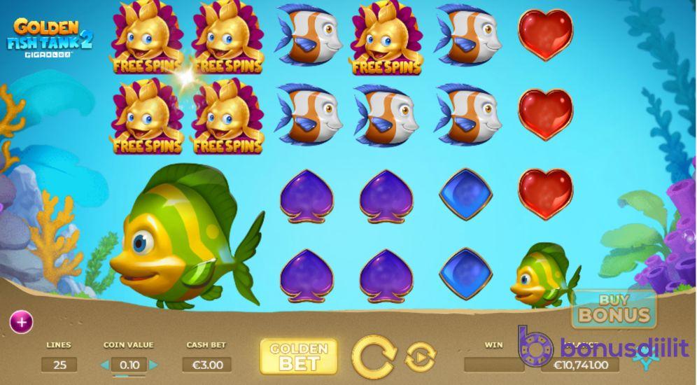 Golden fishtank 2 basegame