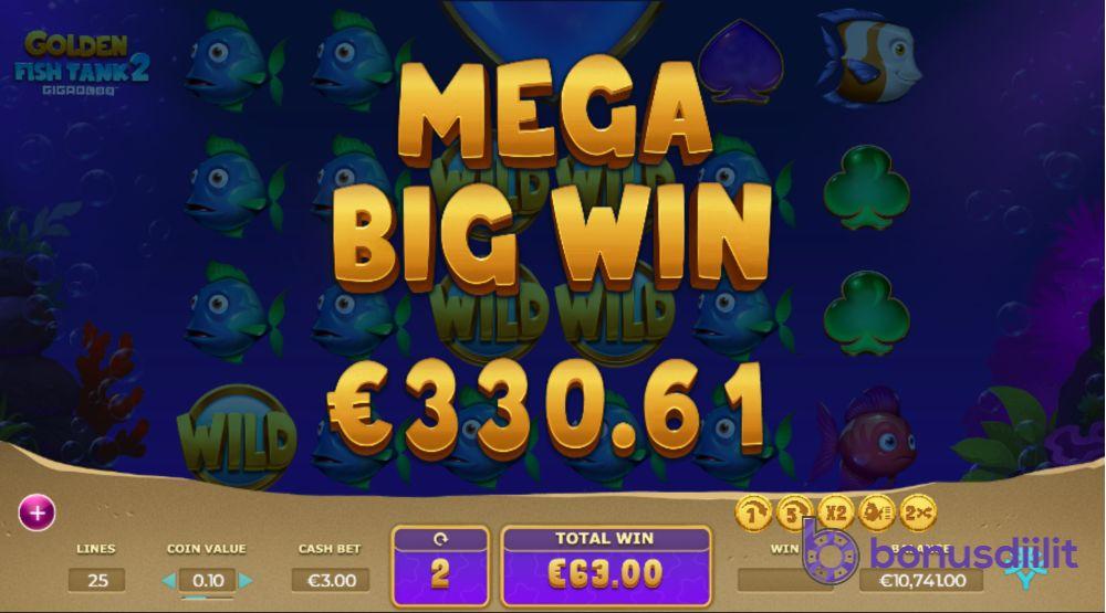 Golden Fish tank 2 bonus